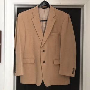 JoS A Banks Camelhair Sport Coat 46R